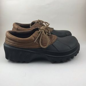 23160190daa709 CROCS Shoes - Crocs Islander lace up boat shoes womens 8 mens 6